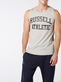 Online Exclusive Russell Athletic Grey Logo Vest