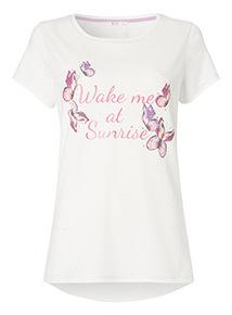 'Wake Me At Sunrise' Pyjama T-Shirt