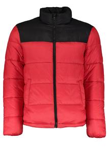 Red & Black Padded Coat
