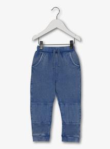 1627cb9fc234 Blue Jersey Denim Look Joggers (1-6 years)
