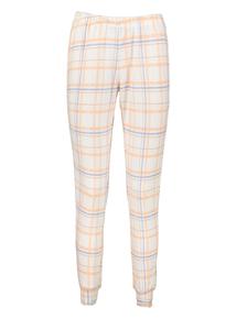 Cream Check Pyjama Bottom