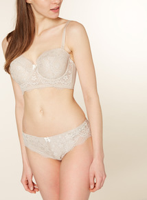 Nude Lizzy Longline Brazilian