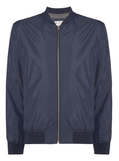Navy Lightweight Baseball Jacket