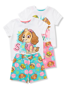2 Pack Multicoloured Paw Patrol Pyjama Set (1.5-7 years)