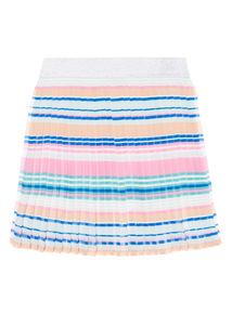 Girls Multicoloured Striped Skirt (3 - 12 years)