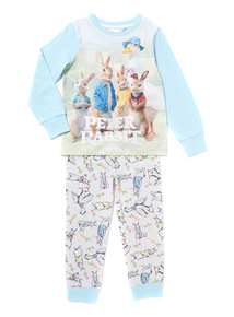 Multicoloured Peter Rabbit Pyjama Set (1-5 years)