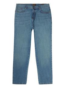 Light Denim Wash Loose Jeans