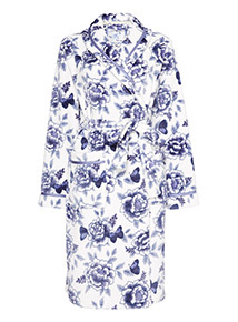 Floral Printed Robe