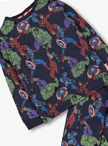 Marvel Avengers Multicoloured Pyjamas & Socks (2-12 Years)