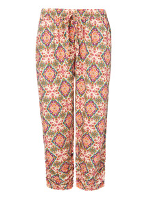 Cropped Drapey Trousers