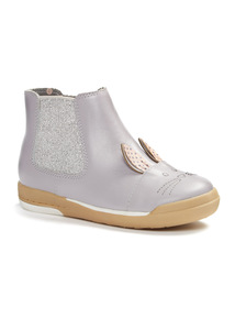 Online Exclusive Glitter Rabbit Boots (4 Infant - 12 Infant)
