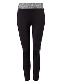 Marl Panel Active Leggings