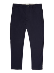 Navy Tapered Stretch Classic Chinos