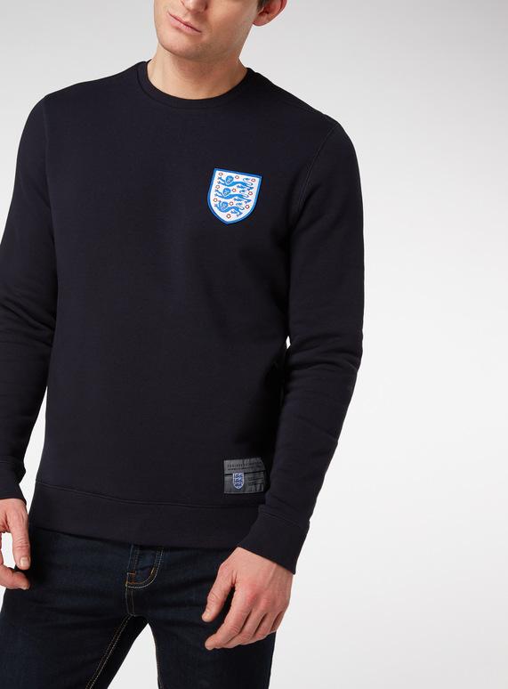 Official England Navy Sweatshirt