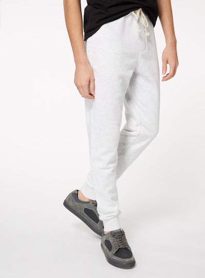 Grey Plain Joggers