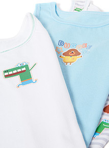 3 Pack Multicoloured Hey Duggee Vests (18 months- 6 years)