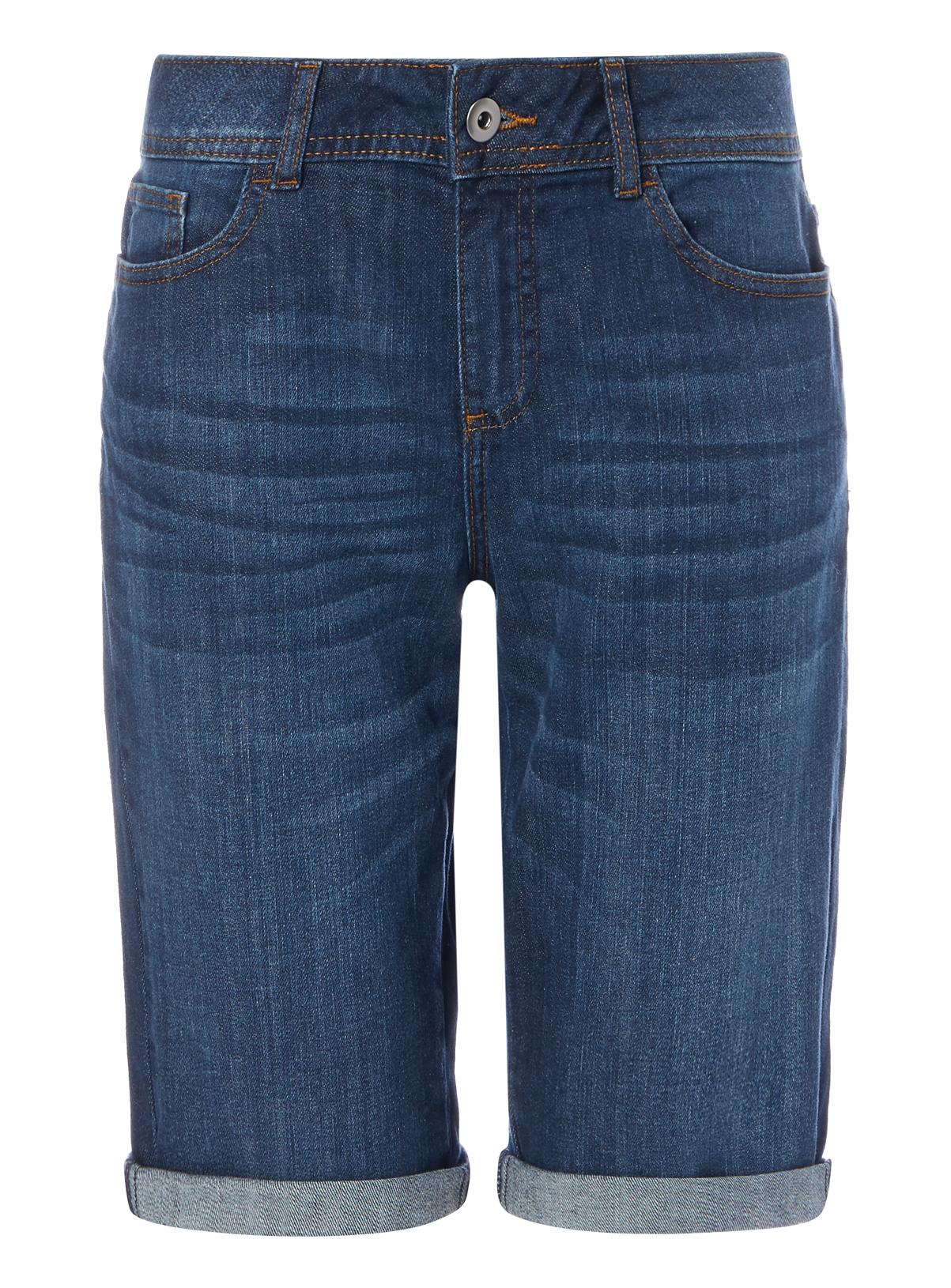 Womens Dark Denim Bermuda Shorts | Tu clothing