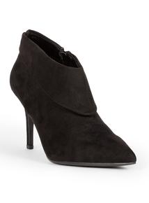 Sole Comfort Black Stiletto Boots