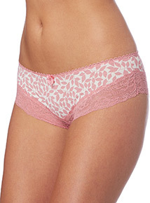 Lace Leg Brazilian Briefs 3 Pack