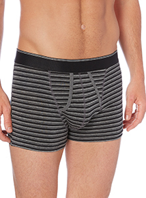 Black Core Striped Trunks 3 Pack