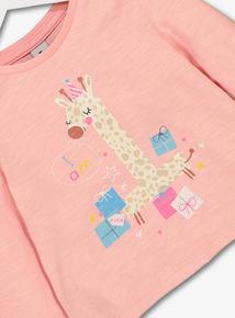 Pink 'I am 1' T-Shirt (9 months - 1.5)
