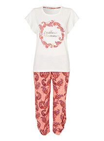 Multicoloured Endless Summer Pyjama Set