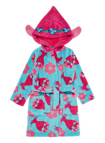 Multicoloured Trolls Dressing Gown (3-10 years)
