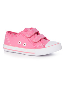 Velcro Strap Canvas Shoes (10 Infant-4 Child)