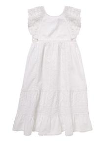 White Maxi Dress (3 - 12 years)