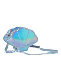 Blue Mermaid Shell Bag