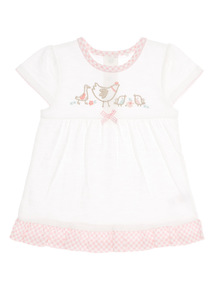 White Bird Top (0 - 12 months)