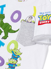 White Disney Toy Story T-Shirt (9 months-6years)