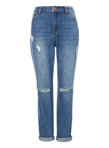 Mid Denim Boyfriend Jeans
