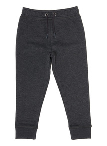 Boys Charcoal Slim Fit Trousers (3-14 Years)
