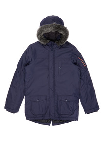 Navy Parka Jacket (3-14 years)