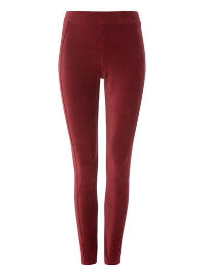 Womens Red Cord Leggings  bc88b585ef