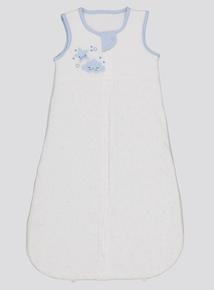 Blue Cloud Motif Sleep Bag (0-24 months)