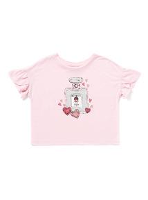 Pink Perfume Bottle Top (3-14 years)