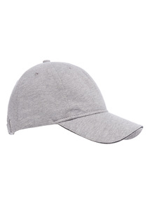 Grey Jersey Marl Cap