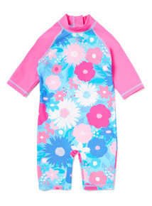 Multicoloured Floral Sunsafe (9 months-5 years)