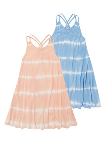 Striped Dresses 2 Pack (3-12 years)