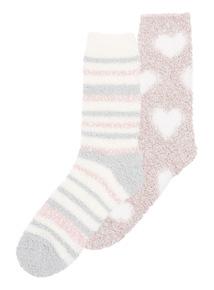 Cosy Socks 2 Pack