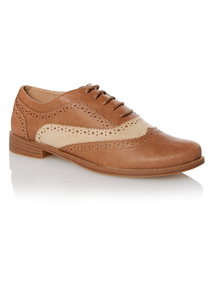 Brown Lace Up Shoes