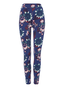 Multicoloured Bold Floral active legging