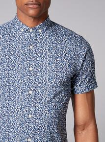 Admiral Blue Floral Shirt