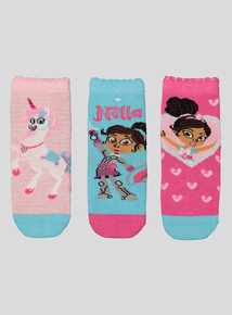 Nella The Princess Knight Multicoloured Socks 3 Pack  (3-12 infant)