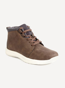 Sole Comfort Brown Lace Up Chukka Boot