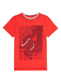 Red Dino Top (3 -12 years)