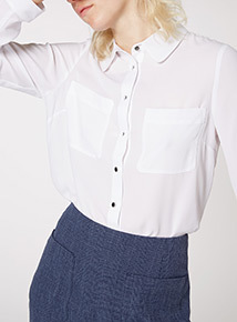 White Simple Shirt