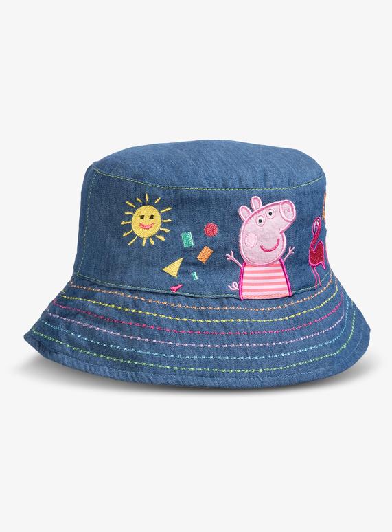 4567bdad45c71 Kids Peppa Pig Denim Bucket Hat (1-5 years)